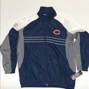Chicago Bears NFL Windbreakr jacket without hood